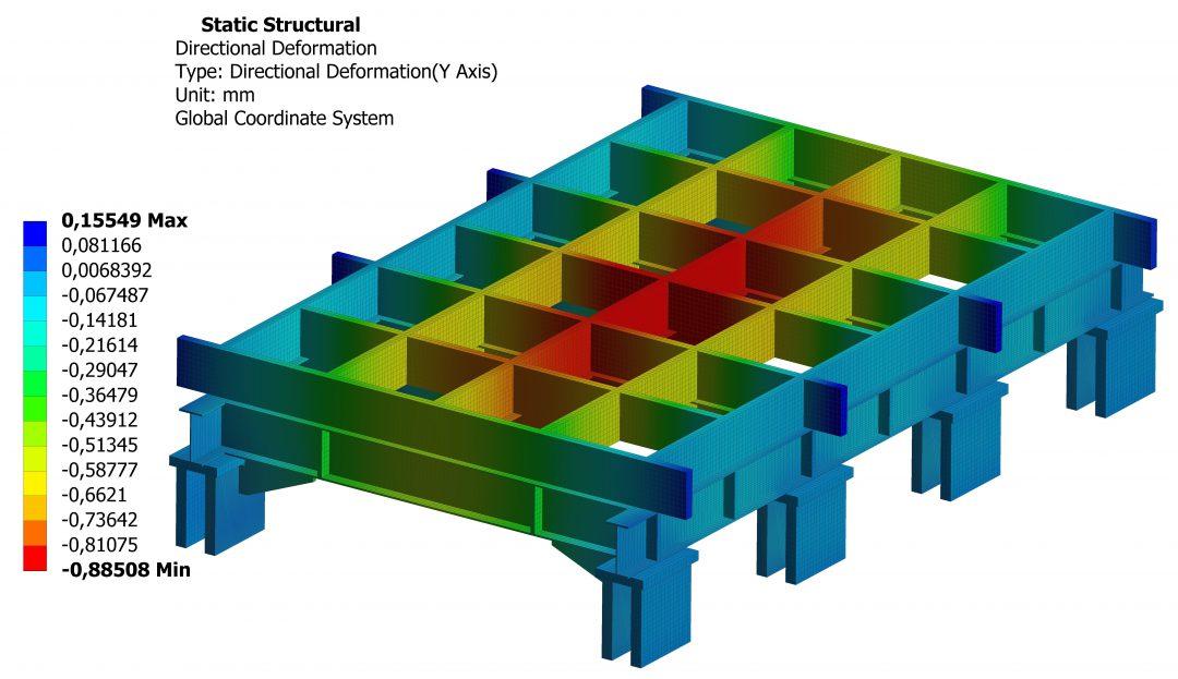 Cálculo FEM estructura carretón