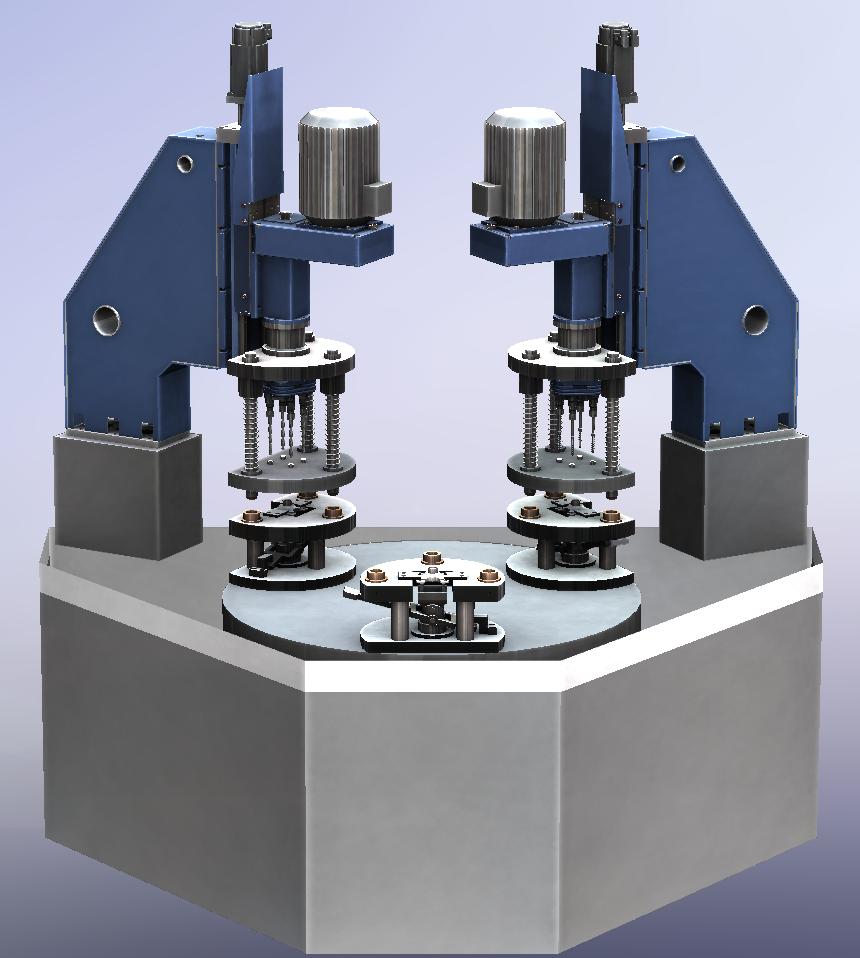 XYZ engineering proyectos de ingeniería diseño de máquina especial máquina especial taladro y roscado