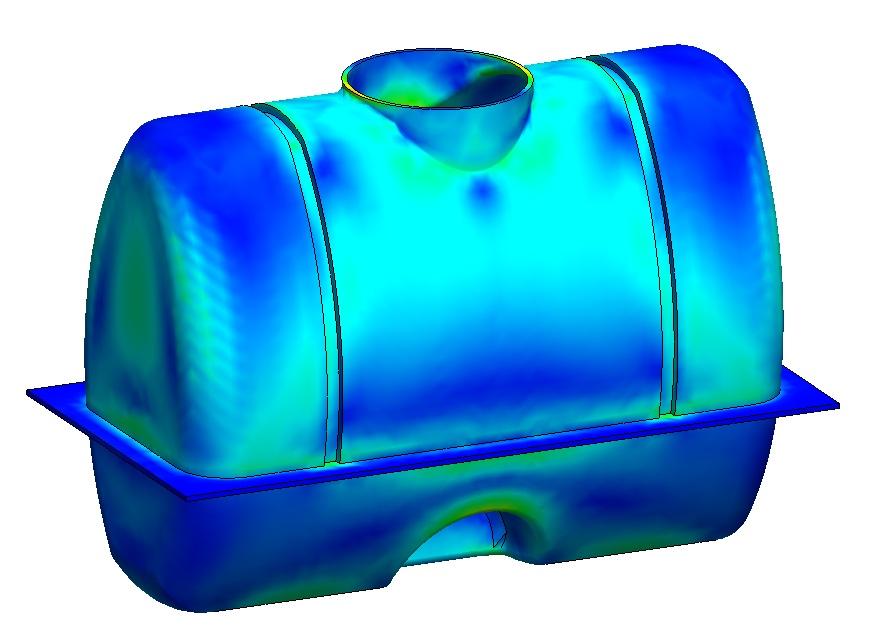 XYZ engineering proyectos ingeniería calculo FEM calculo estres FEM