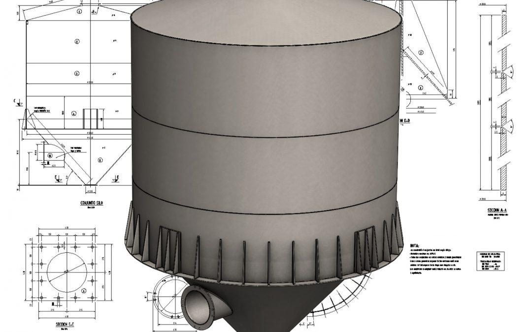 Filler Silo 3D model