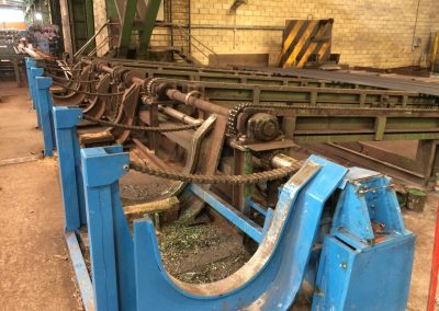 Sistema automatizado para siderurgia.