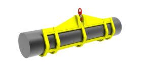 Balancín para cilindros con gancho superior