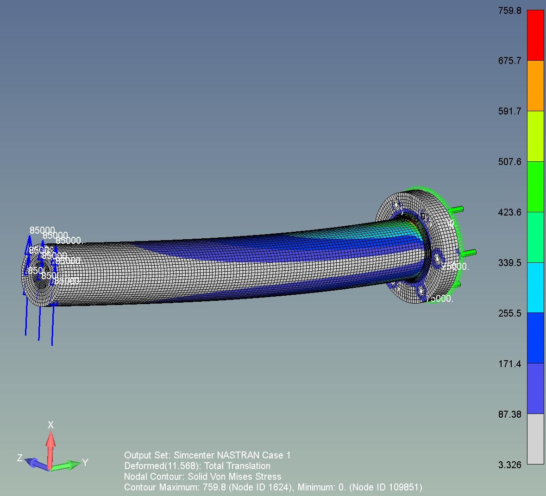 XYZ engineering proyectos de ingeniería estructura metálica Estructura Caudalimetro